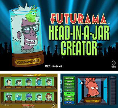 In addition to the game Jelly Wars Online for Android phones and tablets, you can also download Futurama Head-in-a-Jar Creator for free.