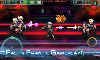 Download Future Mayhem Android free game.