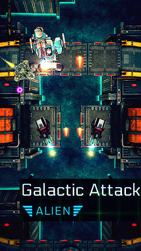 Galactic attack: Alien