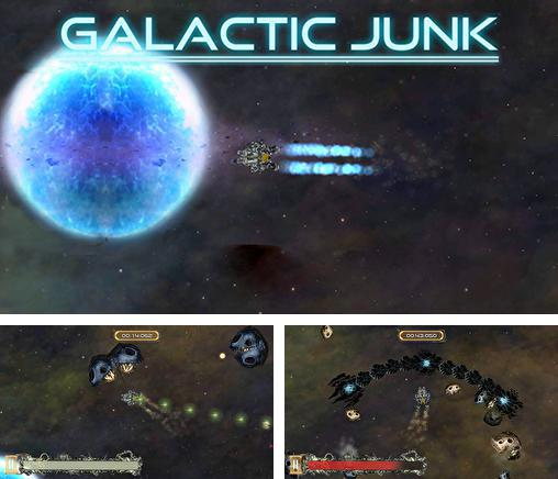 Galactic junk: Shoot to move!