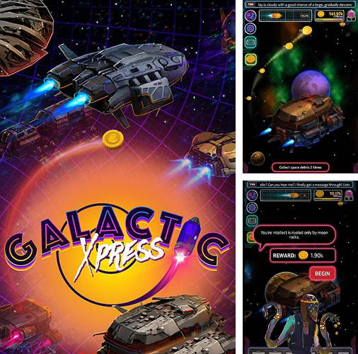 In addition to the game Tiles and tales for Android phones and tablets, you can also download Galactic xpress! for free.