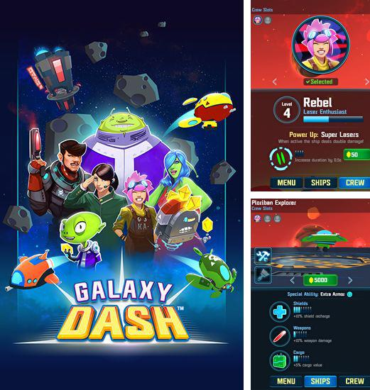 En plus du jeu Cordis pour téléphones et tablettes Android, vous pouvez aussi télécharger gratuitement Course à travers la galaxie: Courses au bout extérieur, Galaxy dash: Race to outer run.