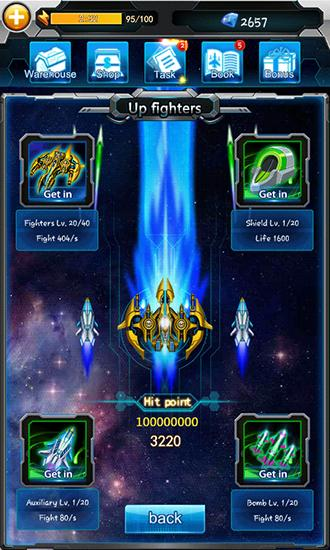 Galaxy fighters: Fighters war screenshot 1