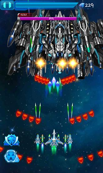 Galaxy fighters: Fighters war screenshot 5