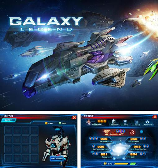 In addition to the game Galaxy Empire for Android phones and tablets, you can also download Galaxy legend for free.