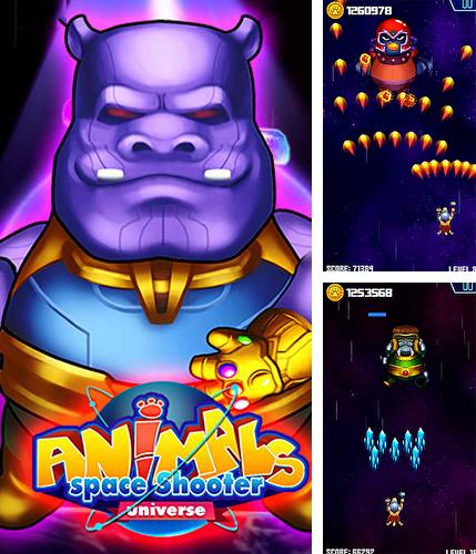 Galaxy of animals: Space shooter. Universe