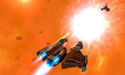 Screenshots of the Galaxy on Fire 2 for Android tablet, phone.