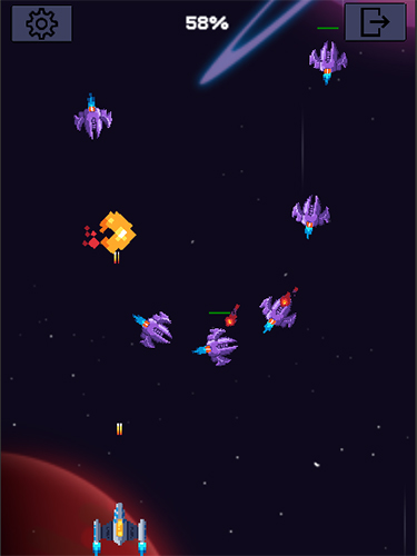 Galaxy war: Space shooter screenshot 1