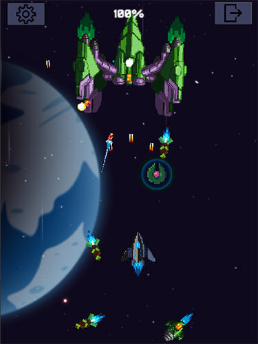 Galaxy war: Space shooter screenshot 3