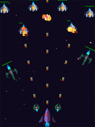 Galaxy war: Space shooter screenshot 4