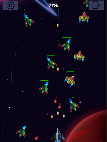 Galaxy war: Space shooter screenshot 5