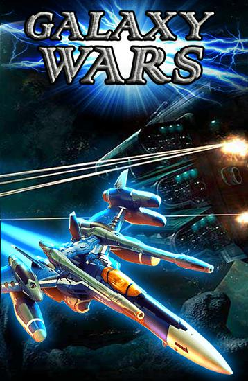 Galaxy wars: Space defense poster