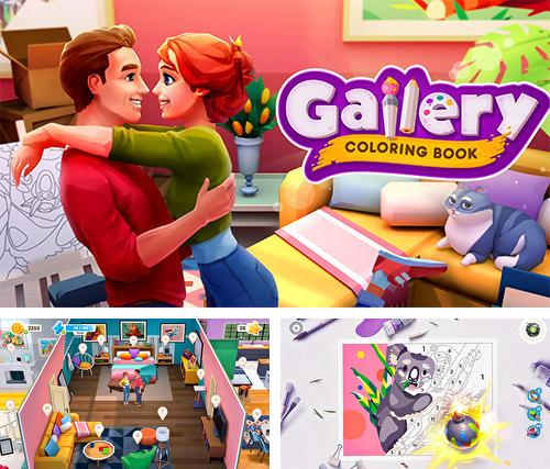 Gallery: Coloring book and decor