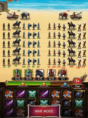 Screenshots von Game of dragon thrones für Android-Tablet, Smartphone.