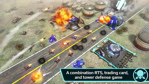 Screenshots von Game of drones für Android-Tablet, Smartphone.