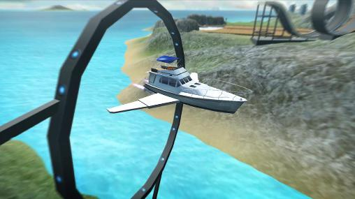 Screenshots von Game of flying: Cruise ship 3D für Android-Tablet, Smartphone.
