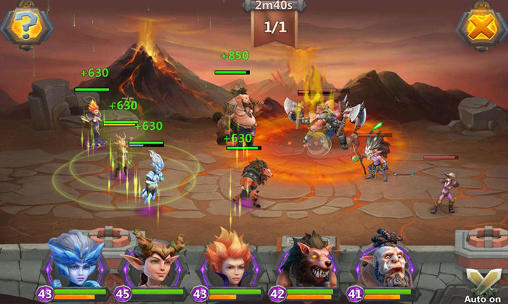 Screenshots von Game of kings für Android-Tablet, Smartphone.