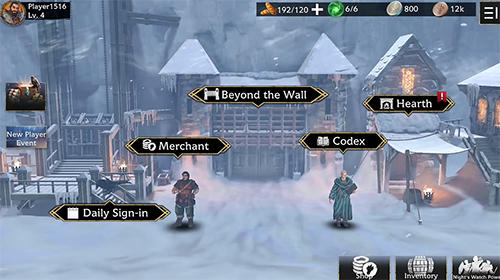 Kostenloses Android-Game Game of Thrones: Hinter der Mauer. Vollversion der Android-apk-App Hirschjäger: Die Game of thrones: Beyond the wall für Tablets und Telefone.