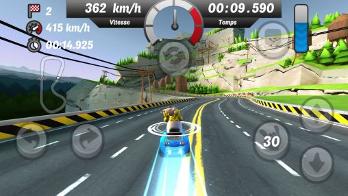 Screenshots von Gamyo Racing für Android-Tablet, Smartphone.
