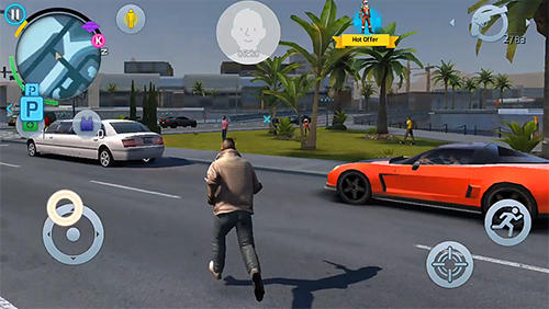 Гра Gangstar: New Orleans на Android - повна версія.