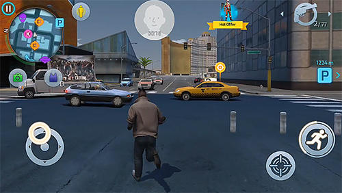 Screenshots von Gangstar: New Orleans für Android-Tablet, Smartphone.