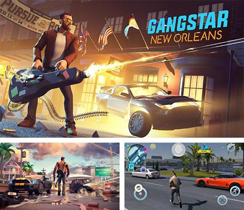 In addition to the game Wall defense: Zombie mutants for Android phones and tablets, you can also download Gangstar: New Orleans for free.