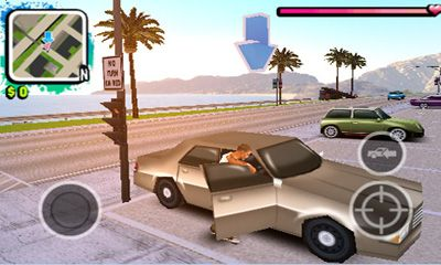 Геймплей Gangstar West Coast Hustle для Android телефону.