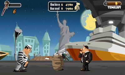Screenshots of the Gangster Mission for Android tablet, phone.