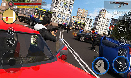 Screenshots von Gangster revenge: Final battle für Android-Tablet, Smartphone.
