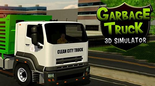 Garbage truck: Trash cleaner driving game poster