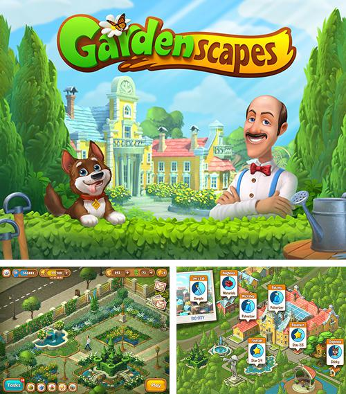 In addition to the game Township for Android phones and tablets, you can also download Gardenscapes: New acres for free.