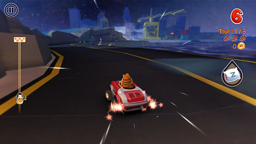Garfield kart screenshot 3