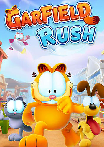 Garfield rush poster