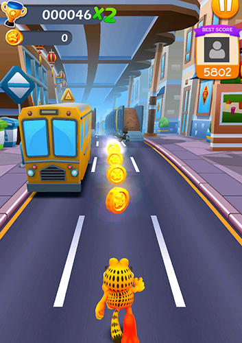Garfield rush screenshot 4
