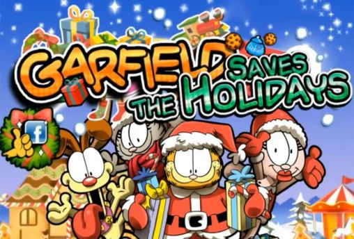Garfield saves the holidays обложка