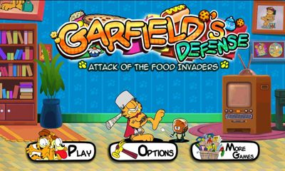 Garfields Defense Attack of the Food Invaders poster