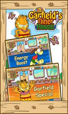 Гра Garfield's Diner Hawaii на Android - повна версія.