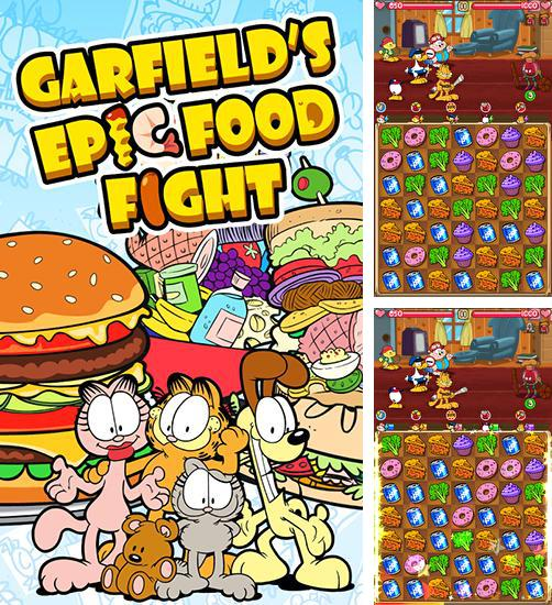 Garfield's epic food fight