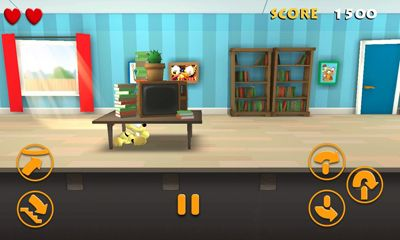 Screenshots von Garfield's Escape für Android-Tablet, Smartphone.