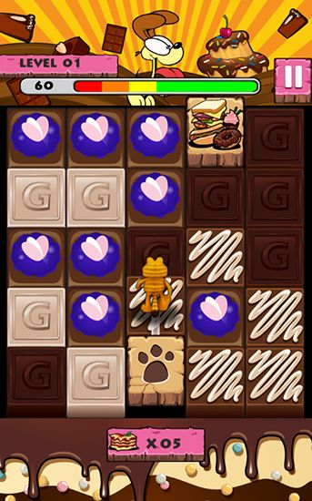 Screenshots von Garfield's puzzle buffet für Android-Tablet, Smartphone.