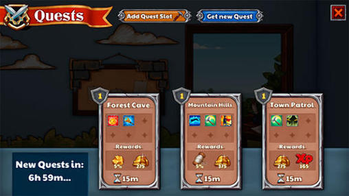 Screenshots von Garrison cats für Android-Tablet, Smartphone.