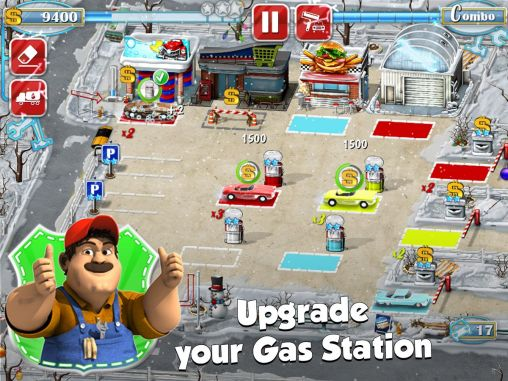 Screenshots von Gas station: Rush hour! für Android-Tablet, Smartphone.