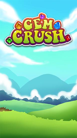 Gem crush. Crazy gem match fever обложка