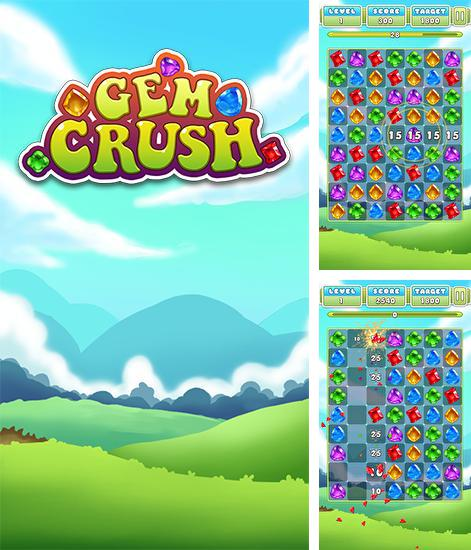 En plus du jeu Chevaliers de poche  pour téléphones et tablettes Android, vous pouvez aussi télécharger gratuitement Destruction des pierres précieuses: Fièvre folle: Combination des diamants , Gem crush. Crazy gem match fever.