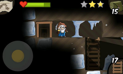 Screenshots of the Gem Miner 2 for Android tablet, phone.
