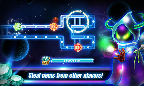Screenshots von Gem raiders für Android-Tablet, Smartphone.