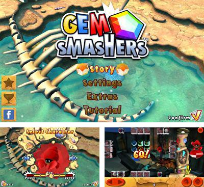 In addition to the game Running Rico Alien vs Zombies for Android phones and tablets, you can also download Gem Smashers for free.