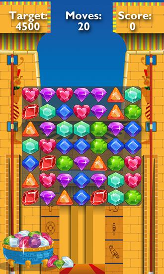 Screenshots of the Gems of pharaoh for Android tablet, phone.