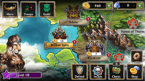 Gems of war screenshot 2