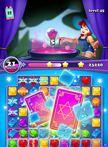 Gems witch: Magical jewels screenshot 1